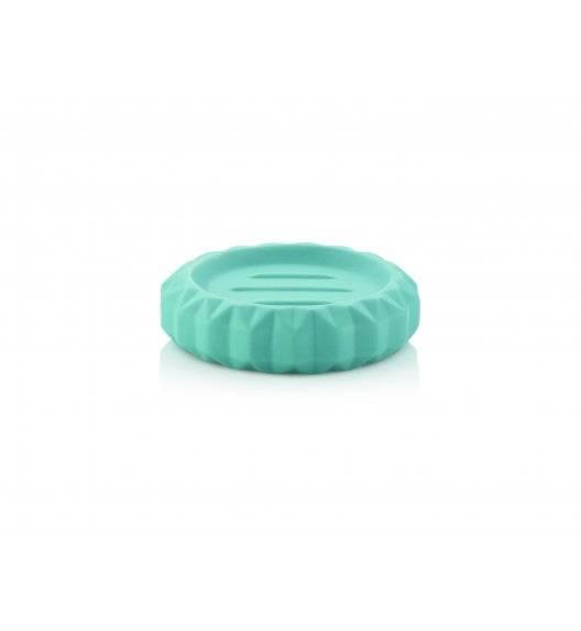KELA ORIGAMI Ceramiczna mydelniczka ⌀ 12 cm / turkusowa