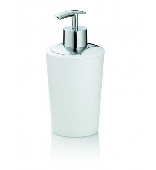 KELA MARTA Dozownik na mydło w płynie 350 ml / biały