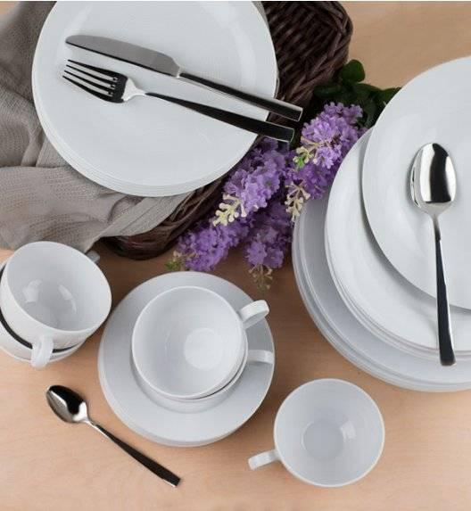 LUBIANA TIAGO Serwis obiadowy 30 el / 6 osób / porcelana