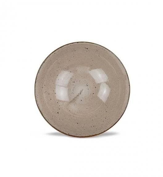 LUBIANA BOSS 6630T Salaterka 15 cm / brązowa / porcelana ręcznie malowana