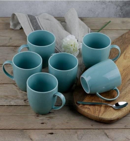 LUBIANA ETO K500 Kubek 400 ml / 6 sztuk / morski / porcelana ręcznie malowana