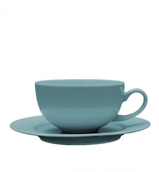 LUBIANA ETO K500 Filiżanka 250 ml + spodek / morski / porcelana ręcznie malowana