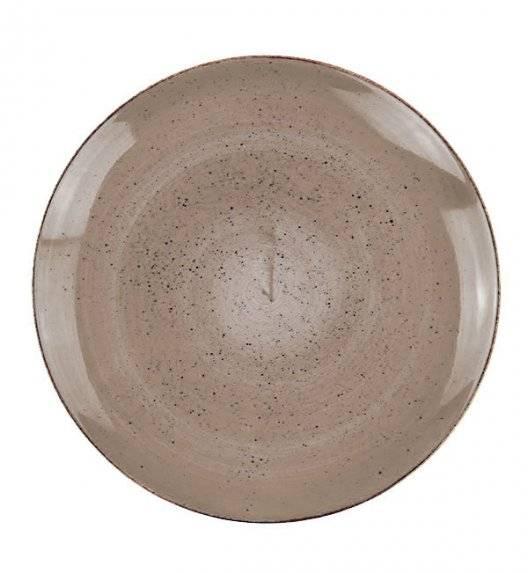 LUBIANA BOSS 6630T Talerz obiadowy 27 cm / brązowy / porcelana ręcznie malowana