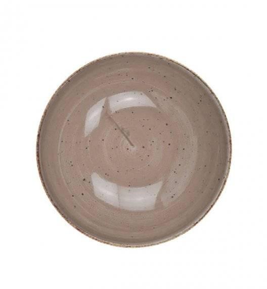 LUBIANA BOSS 6630T Talerz głęboki 18 cm / brązowy / porcelana ręcznie malowana