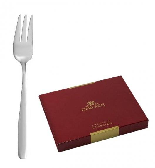 GERLACH THALIA Sztućce Widelczyki do ciast 6 el pudełko / 6 osób / połysk