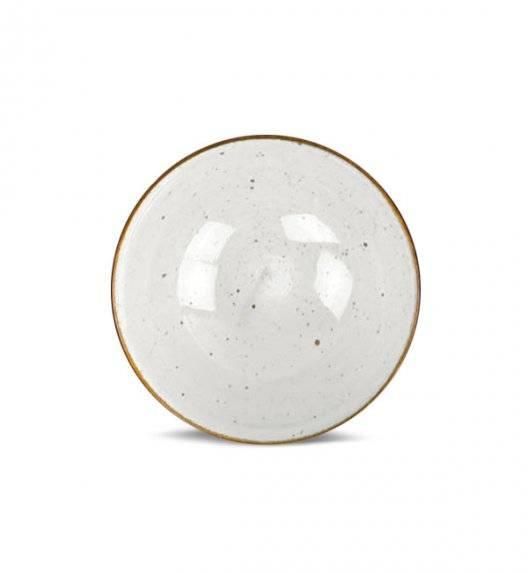 LUBIANA BOSS 6630U Salaterka 15 cm / budyniowy / porcelana ręcznie malowana