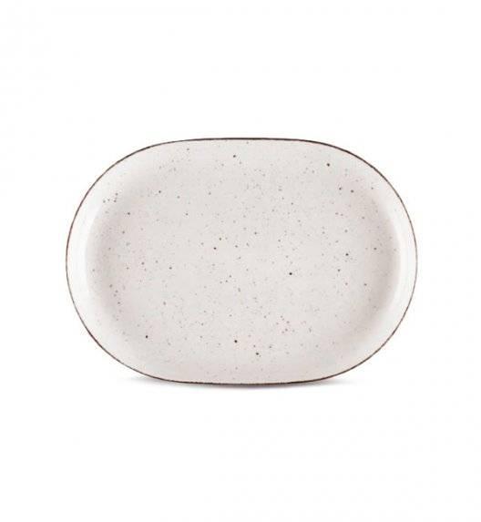 LUBIANA BOSS 6630U Półmis 28 cm / budyniowy / porcelana ręcznie malowana