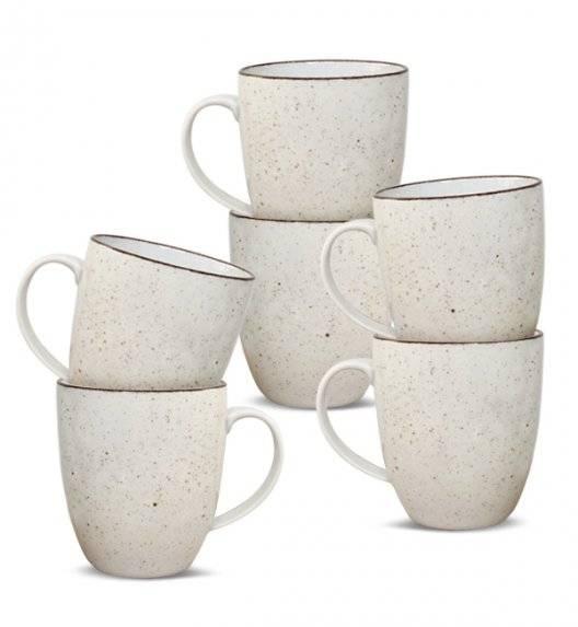 LUBIANA BOSS 6630U Kubek 380 ml 6 os / 6 el / budyniowy / porcelana ręcznie malowana