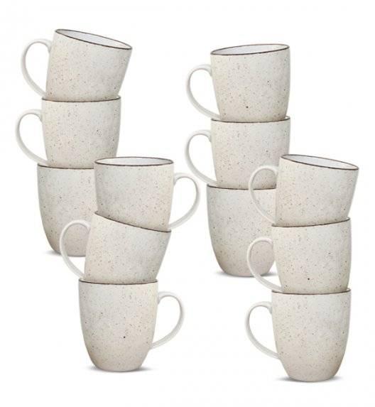 LUBIANA BOSS 6630U Kubek 380 ml 12 os / 12 el / budyniowy / porcelana ręcznie malowana