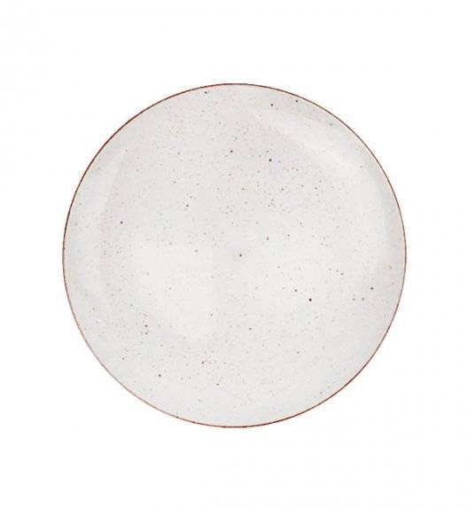 LUBIANA BOSS 6630U Talerz deserowy 20,5 cm / budyniowy / porcelana ręcznie malowana