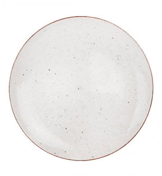 LUBIANA BOSS 6630U Talerz obiadowy 27 cm / budyniowy / porcelana ręcznie malowana