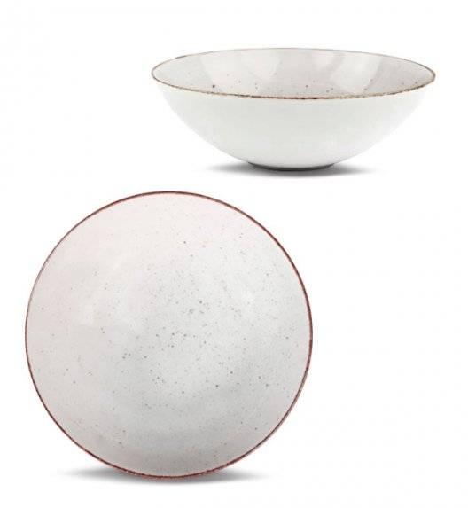 LUBIANA BOSS 6630U Talerz głęboki 18 cm / budyniowy / porcelana ręcznie malowana