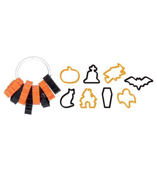 WYPRZEDAŻ! TESCOMA DELICIA Foremki do wykrawania Halloween 8 szt.
