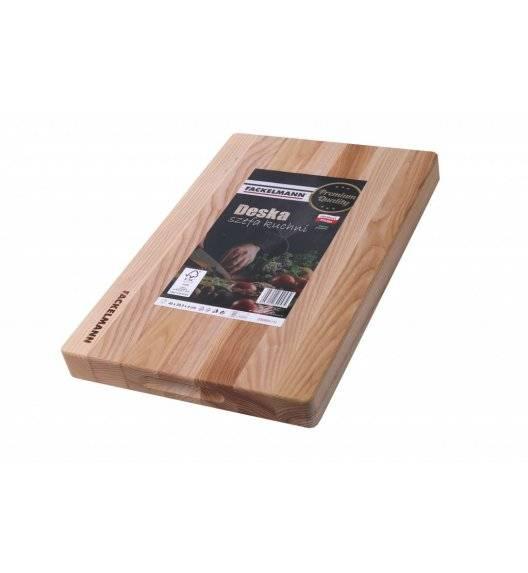 WYPRZEDAŻ! FACKELMANN Deska szefa kuchni 40 x 29,5 x 4 cm / drewno jesionowe