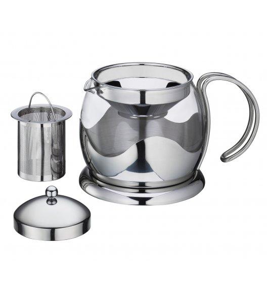 WYPRZEDAŻ! KUCHENPROFI Dzbanek do herbaty z zaparzaczem 1,25 L EARL GREY szkło / FreeForm