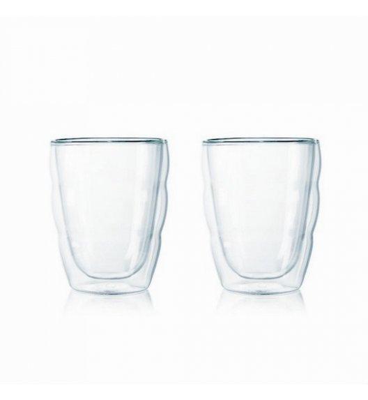 WYPRZEDAŻ! BODUM PAVINA Komplet 2 wysokich szklanek 0,25 l / podwójne ścianki / Btrzy