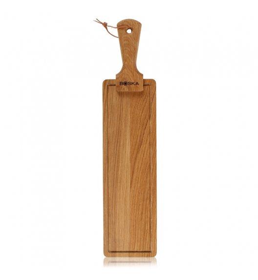 WYPRZEDAŻ! BOSKA FRIENDS Deska do serwowania sera i przekąsek 53 cm / drewno dębowe / LENA