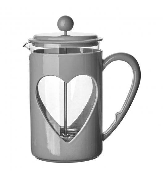 TADAR LOVELY Zaparzacz / dzbanek do kawy 800 ml / szary
