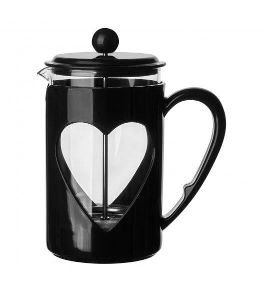 TADAR LOVELY Zaparzacz / dzbanek do kawy 800 ml / czarny
