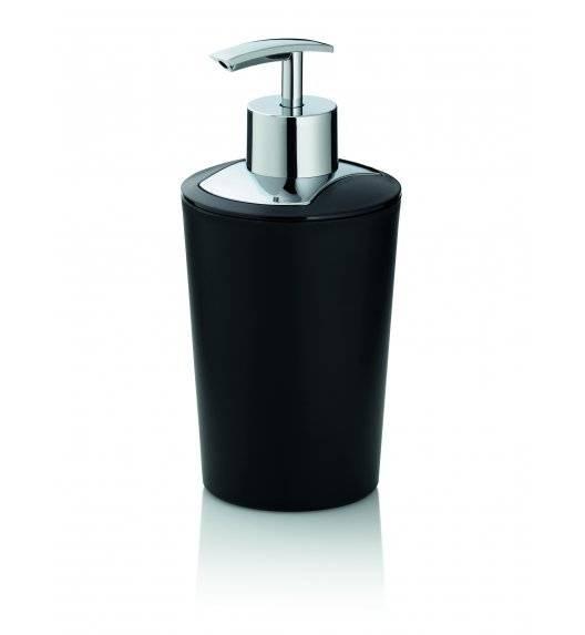 WYPRZEDAŻ! KELA MARTA Dozownik na mydło w płynie 350 ml / czarny