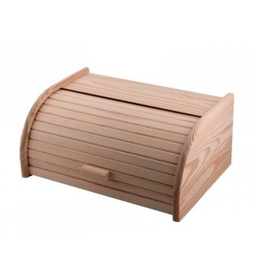 WYPRZEDAŻ! FACKELMANN Chlebak pojemnik na chleb / drewno / 40 x 28 x 18 cm