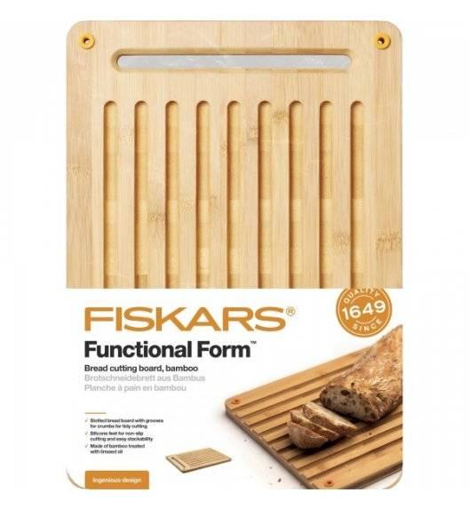 FISKARS Deska do krojenia 25 x 35 cm / bambusowa