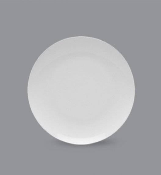 LUBIANA BOSS Talerz deserowy 20,5 cm / biały / porcelana
