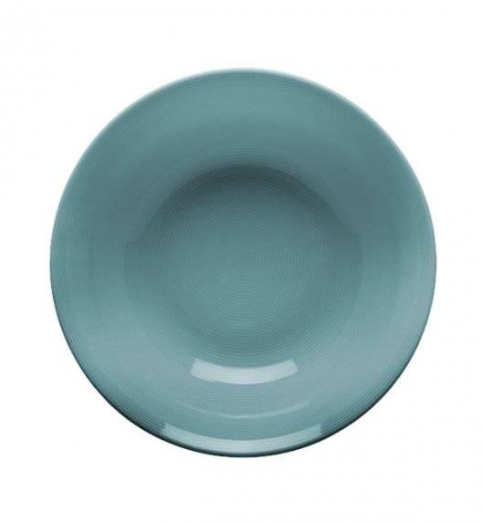 LUBIANA ETO K500 Talerz głęboki 23 cm / morski / porcelana ręcznie malowana