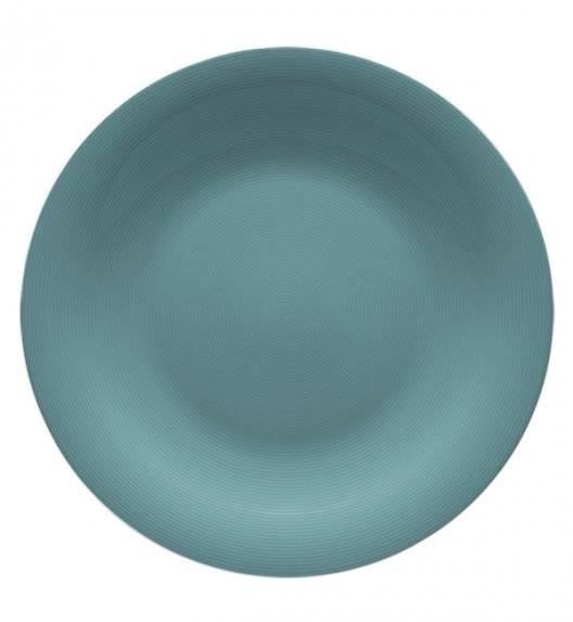 LUBIANA ETO K500 Talerz obiadowy 25 cm / morski / porcelana ręcznie malowana