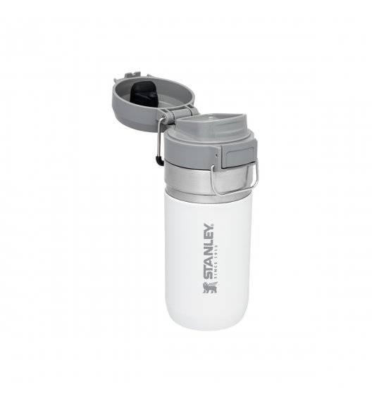 STANLEY QUICK FLIP Butelka termiczna 470 ml / biała / stal nierdzewna