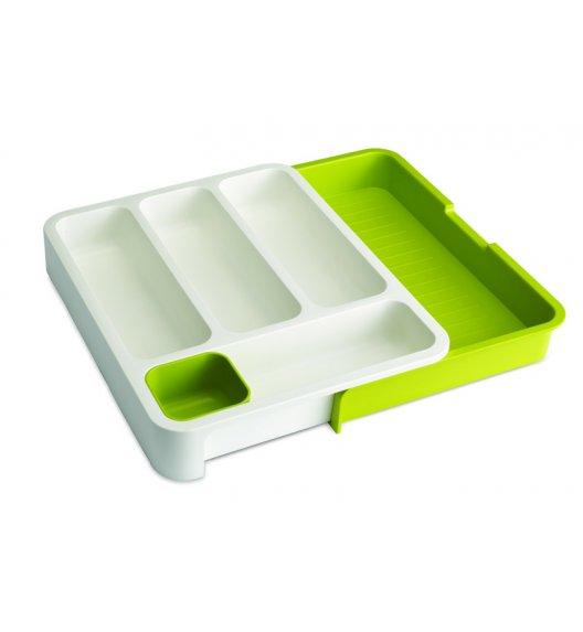 JOSEPH JOSEPH Organizer na sztućce do szuflady / biało-zielony