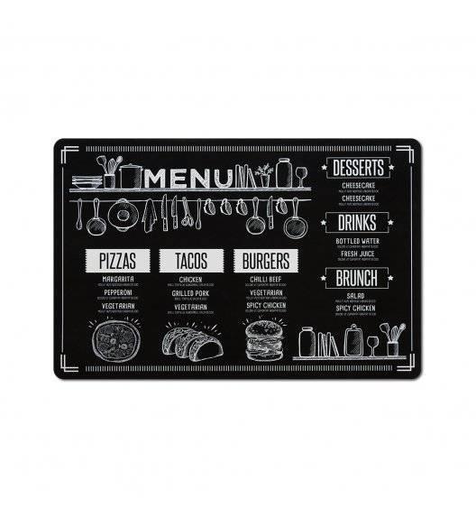 ZELLER MENU Podkładka na stół 43,5 x 28,5 cm / tworzywo sztuczne