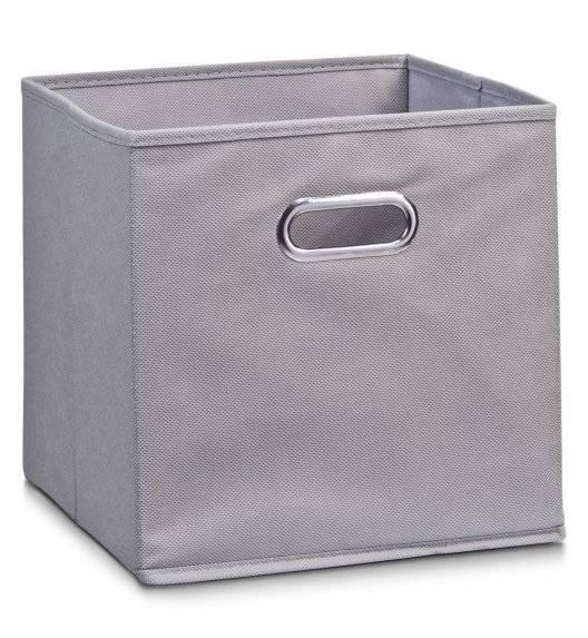 ZELLER Pudełko do przechowywania 32 x 32 cm / szare