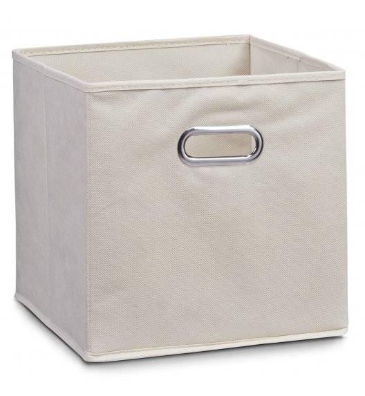 ZELLER Pudełko do przechowywania 32 x 32 cm / beżowe