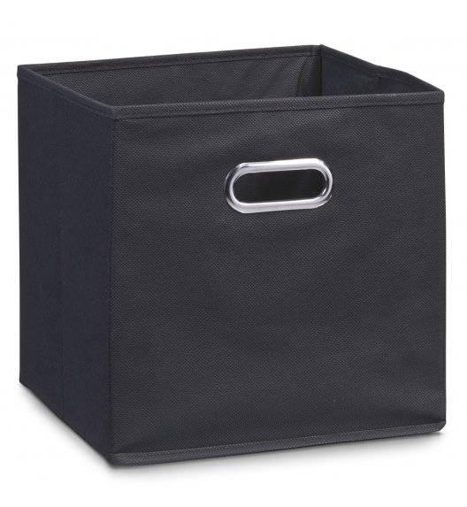 ZELLER Pudełko do przechowywania 32 x 32 cm / czarne