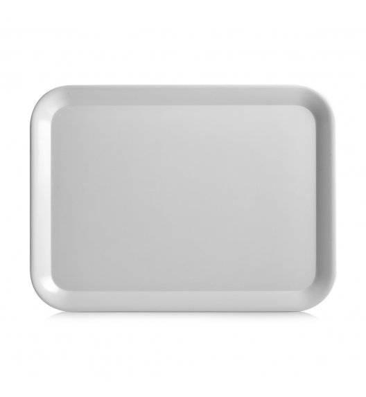 ZELLER Taca 43,5 x 32,5 cm / szara / melamina