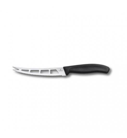 VICTORINOX SWISS CLASSIC Nóż do sera 13 cm / czarny