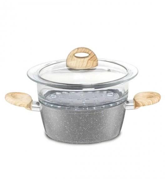 AMBITION KENYA Garnek do gotowania na parze 20 cm / powłoka nieprzywierająca / indukcja
