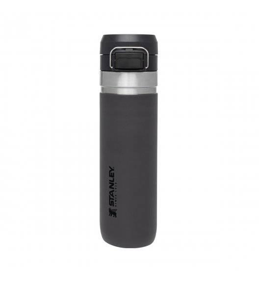 STANLEY QUICK FLIP Butelka termiczna 700 ml / grafitowa / stal nierdzewna