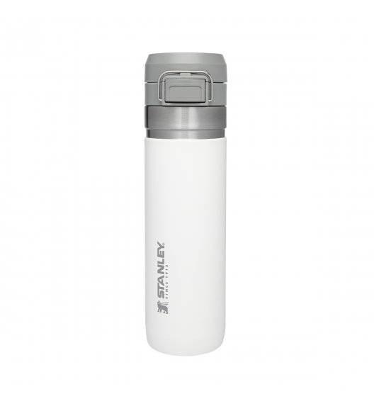 STANLEY QUICK FLIP Butelka termiczna 700 ml / biała / stal nierdzewna