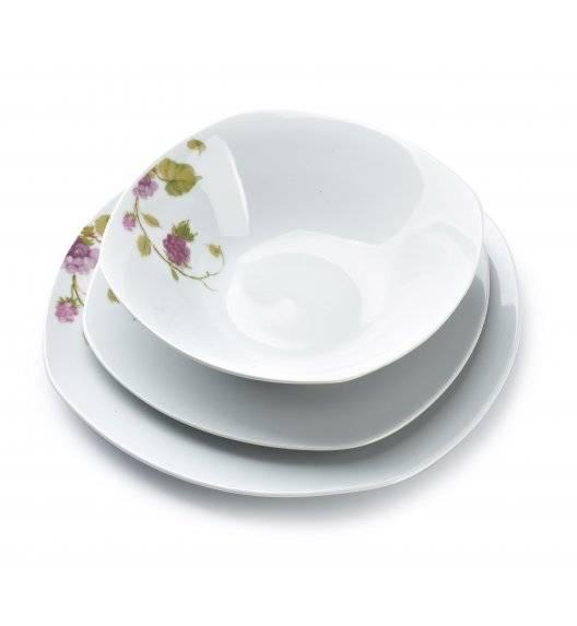 AFFEKDESIGN BLACKBERRY Serwis obiadowy 18 elementów / 6 osób / porcelana