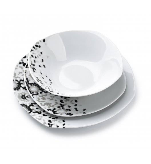 AFFEKDESIGN GREY LEA Serwis obiadowy 18 elementów / 6 osób / porcelana
