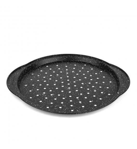 KONIGHOFFER MARBLE Blacha do pizzy z uchwytami 37 x 22 cm / stal węglowa