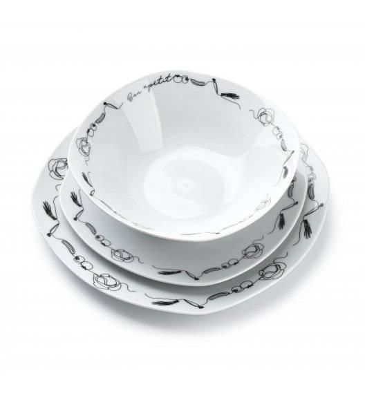 AFFEKDESIGN DELICIOUS Serwis obiadowy 18 elementów / 6 osób / porcelana