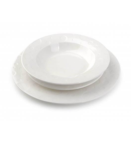 AFFEKDESIGN INES Serwis obiadowy 18 elementów / 6 osób / porcelana