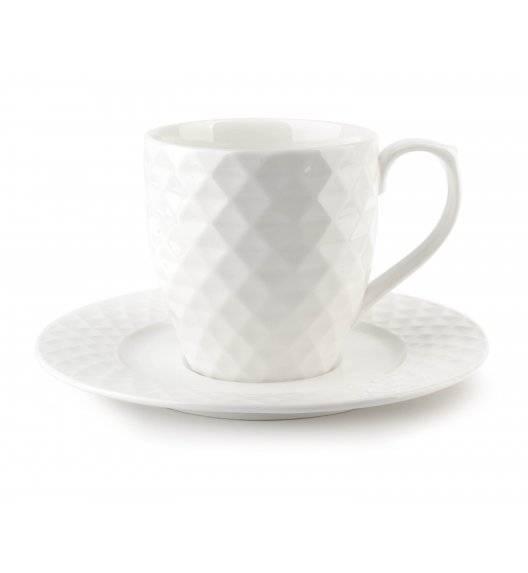 AFFEKDESIGN DIAMENT Filiżanka 230 ml ze spodkiem 16 cm / porcelana