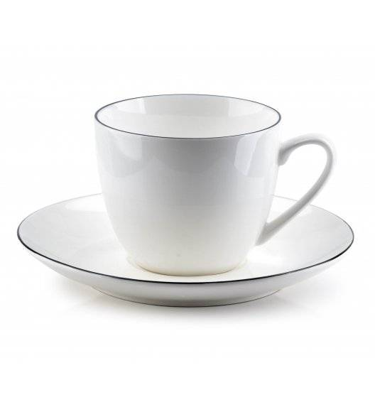 AFFEKDESIGN SIMPLE Filiżanka 220 ml ze spodkiem / porcelana