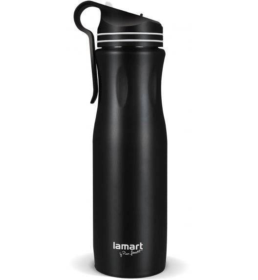 LAMART HANG Kubek termiczny 550 ml czarno-biały / LT4046
