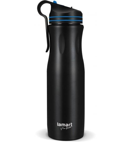 LAMART HANG Kubek termiczny 550 ml czarno-niebieski / LT4047