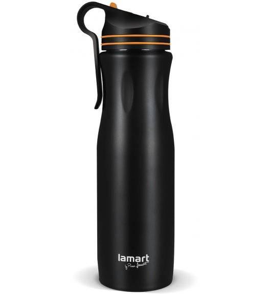 LAMART HANG Kubek termiczny 550 ml czarno-pomarańczowy / LT4048